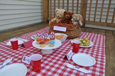 Teddy Bear Picnic bear compani, birthday parti, kids picnic theme, compani picnic, bear picnic, teddi bear, bear layout, bear theme, teddy bears picnic