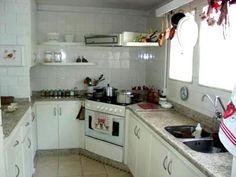 Cozinha da Casa da Praia Tabatinga