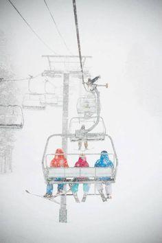 Blizzard lift rides- follow us www.helmetbandits.com like it, love it, pin it, share it!