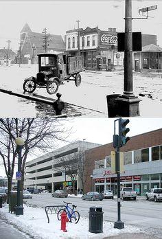 Iowa City then and now.  Amazing!