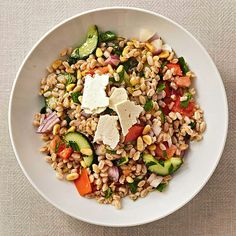 Farro and Pine Nut Tabbouleh.