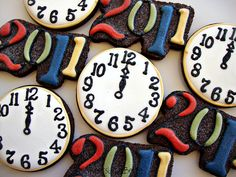 New Years Cookie Idea