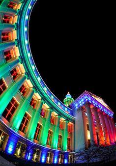♥ Christmas Lights of Denver Civic Center Park