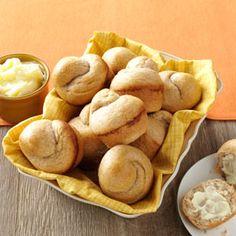 Honey Wheat Rolls Recipe from Taste of Home