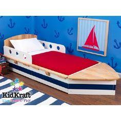 KidKraft - Classic Boat Toddler Bed