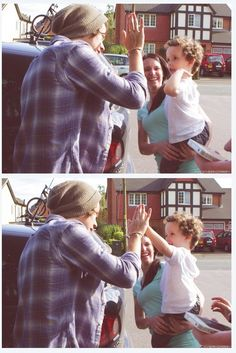 forever repinning anything with harry high-fiving kids. AMENN!!!!