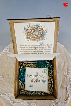 Baby Shower Invite - Feather Their Nest