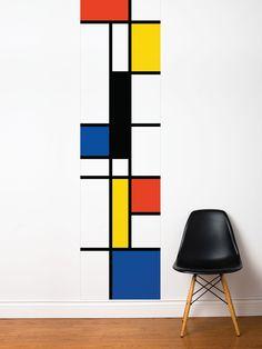 Pop Mondrian Wall Decal - Gilt Home