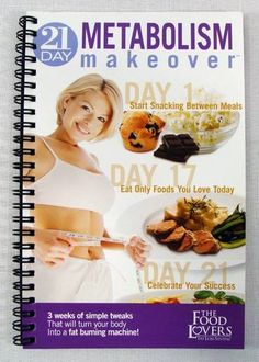 The Food Lovers Fat Loss System 21 Day Metabolism Makeover Book - SOLD