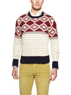 Winter Jacquard Sweater by GANT Rugger on Gilt.com
