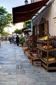 /by Sebastien Pacaud #flickr #corsica #market