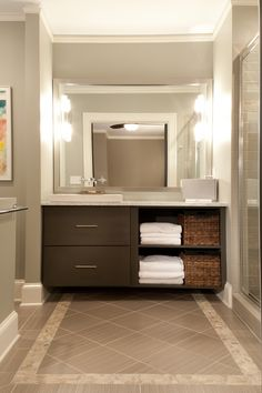 Modern Bathroom - Decatur, GA by Renewal Design-Build | RoomReveal