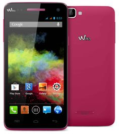 "SMARTPHONE WIKO RAINBOW 5"" PINK 5/QUADCORE/1GB/4GB/DUAL SIM/ ANDROID4.2 177,81€ PVP #tiendanexus"