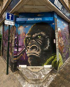 Gorilla #Graffiti #Art