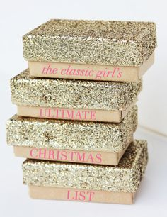 The Classic Girl's Ultimate Christmas List