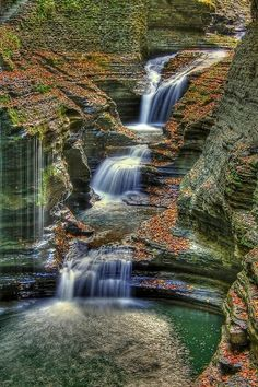 Places to Relax - Watkins Glen State Park