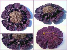 crochet flower tutorial  @Afshan Shahid