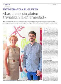 Una completa #entrevista a Ricardo, de #Celíaco a los 30 y a Manuela, Presidenta de la Asociación de #Celíacos y Sensibles al #Gluten de #Madrid sobre su día a día #singluten