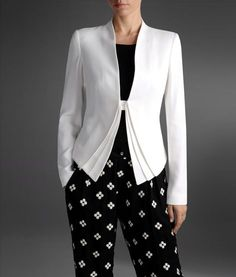 "Emporio Armani - One Button Jacket- Spring / Summer 2013, Olivia Pope, Scandal, Episode 222 ""White Hats Back On"""