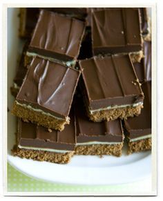 st. patty's day mintbrownies