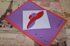 Red Hat Ladies Society Thank You card by AnLieDesigns on Etsy, $2.00