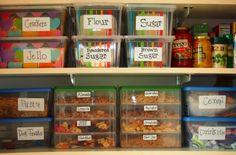 Cool organizing tip
