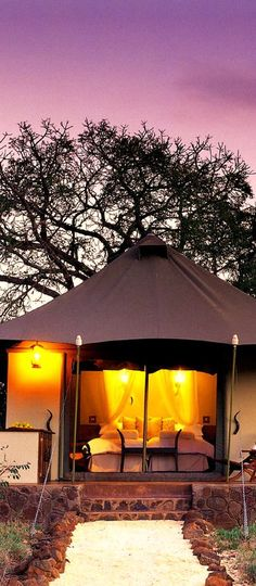 WHITE ELEPHANT SAFARI LODGE Take safari to a whole new level.