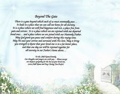 Image detail for -DEAR MOM IN HEAVEN MEMORIAL POEM PRINT PERSONALIZED