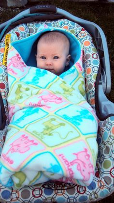 Carseat baby blanket. I'm gonna need one of these