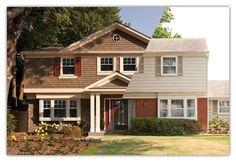 Tri level homes on pinterest split level home split for Bi level house additions