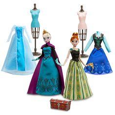 Frozen Deluxe Fashion Doll Set