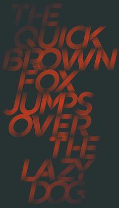 Gotham Streets Font by Patrick Seymour, via Behance