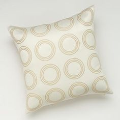 Jennifer Lopez bedding collection Paloma Circle Decorative Pillow