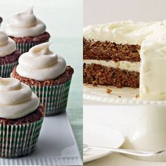 7 Cakes and Their Cupcake Counterparts on Food & Wine