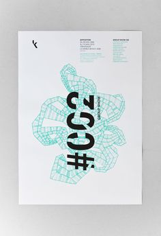 group show poster by les graphiquants