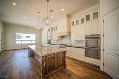 We used this beautiful custom home for our photo shoots last week! Stunning kitchen!