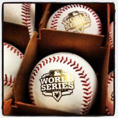 Official #WorldSeries baseballs #orangeoctober #SFGiants - 2012 Champs!!!!
