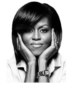 Michele Obama by Platon  Michele Obama is a great example to all women....altogether lovely!