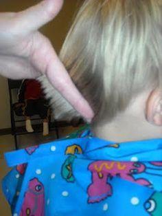 How to cut little boy hair