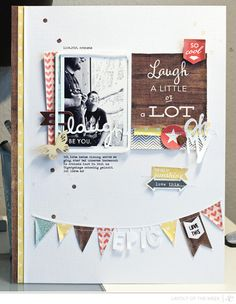 #papercraft #scrapbook #layout. Scrapbooking Kits, Paper & Supplies, Ideas & More at StudioCalico.com!