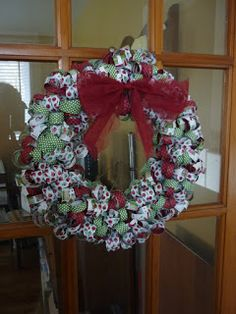 Papercrafts Love Affair: Curled DSP Wreath