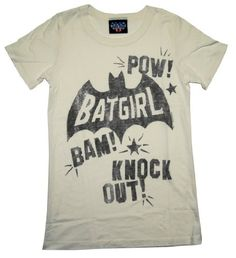 Batgirl Knockout T-Shirt -- I wouldn't wear it, but @Amber Massey of the Unicorns would.