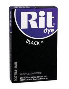 Rit Dye Powder-black