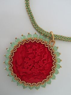 Empress Cixi's Jewel by Beadwork by Sian, via Flickr