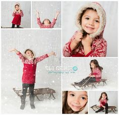 Winter Wonderland Christmas Mini Sessions by Got Grins? Photography, Lakeland's Premier Child Photographer