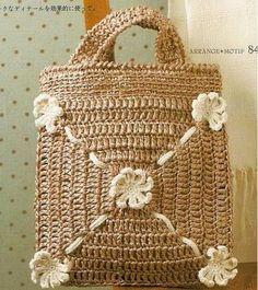 Patrones Crochet: 5 Bolsos de Crochet con Patrones y Tutoriales