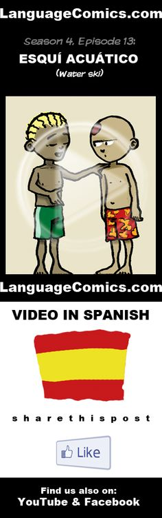 Practice your pronunciation and learn #Spanish with this episode and many more. Enjoy and share!  http://www.youtube.com/watch?v=s2u3xO4Wizk ---------------------------------------------  Also find us on http://www.Facebook.com/LanguageComics and http://www.YouTube.com/LanguageComicsTeam