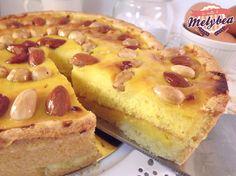 #Crostata di #crema pasticcera farcita
