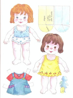 paper baby doll