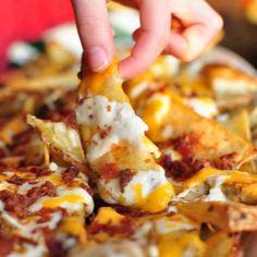 Cheesy Potato Wedges...